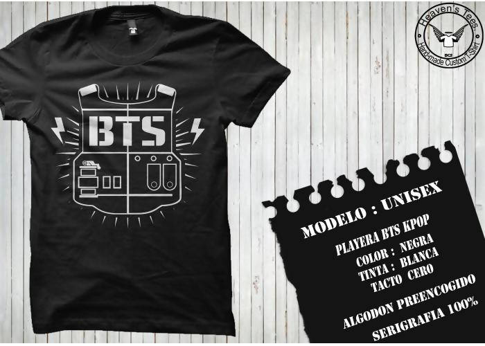 Playera K-POP BTS