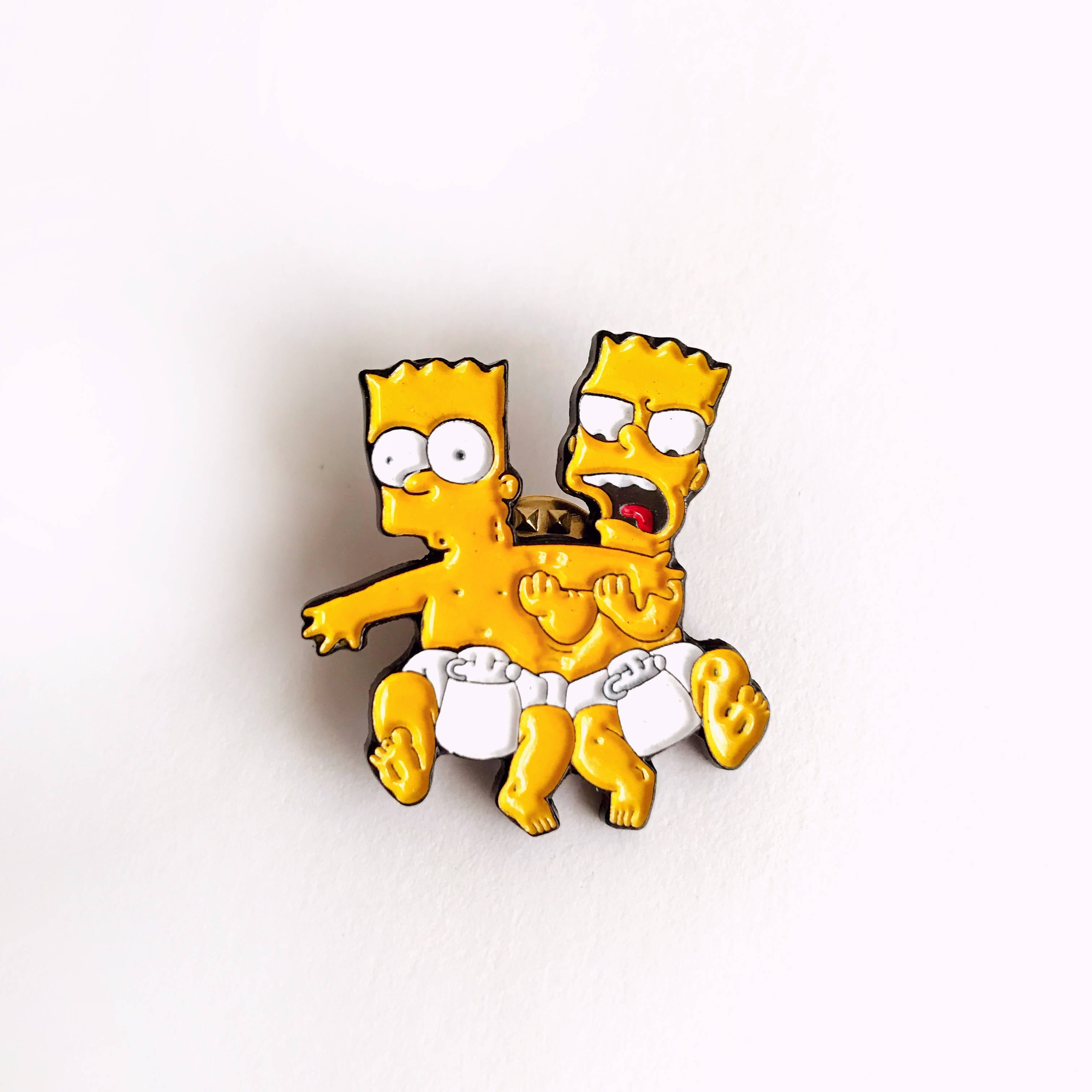 Pin Bart & Hugo