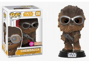 Funko Pop - CHEWBACCA Flocked