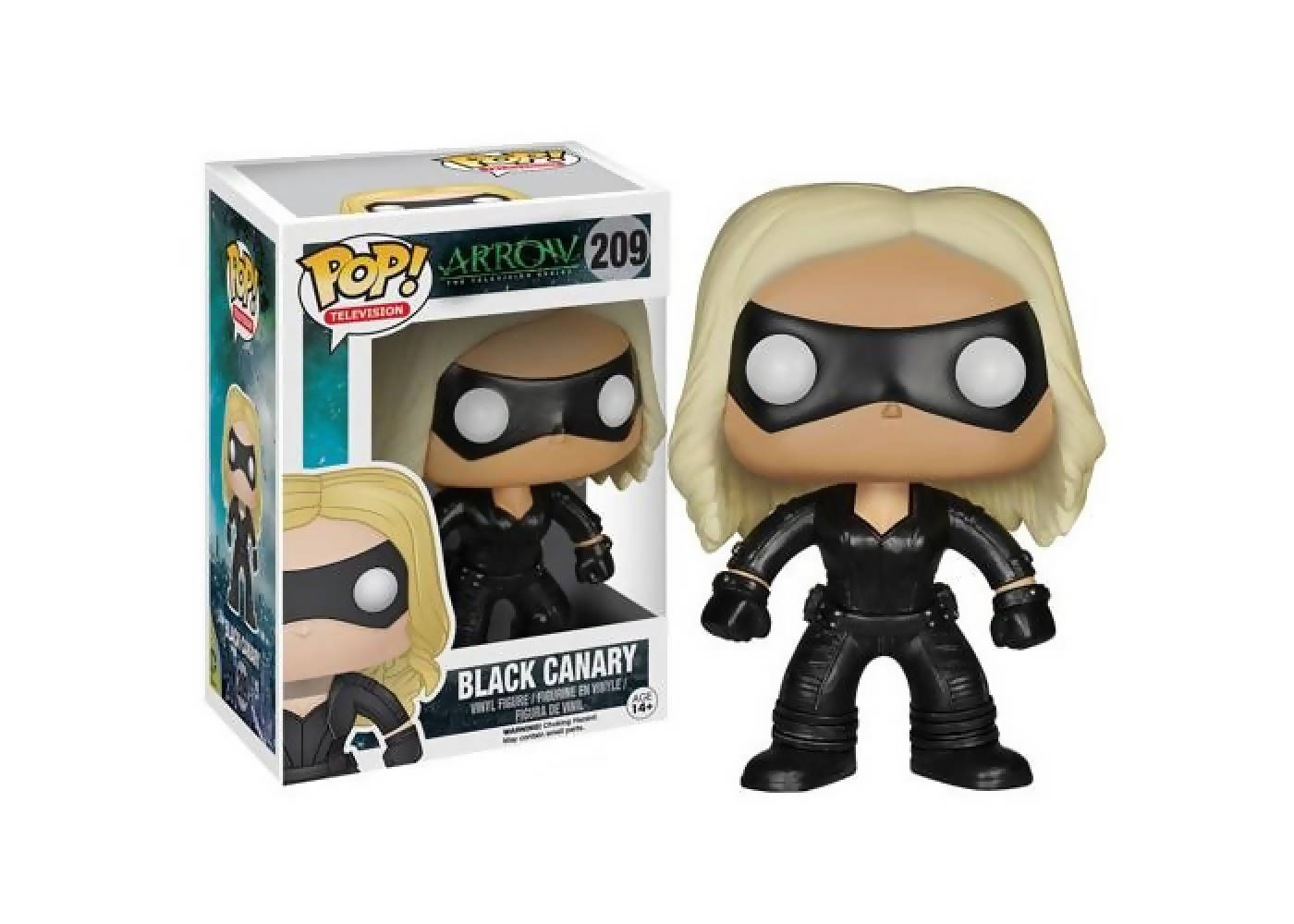 Funko Pop - BLACK CANARY (caja maltratada)