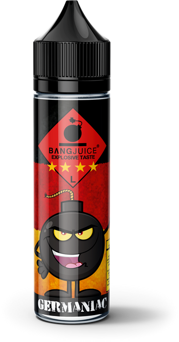 BangJuice® Germaniac (Limited Edition)  Shortfill - 50ml 0mg