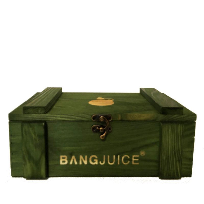 BangJuice® Loot Box Lasered - Green - Limited Edition