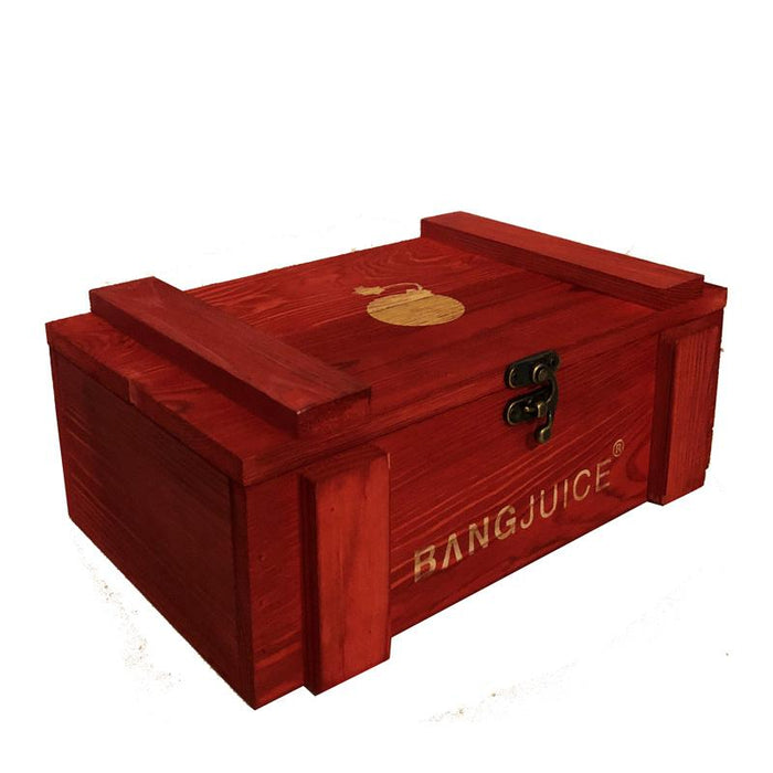 BangJuice® Loot Box Lasered - Red - Limited Edition