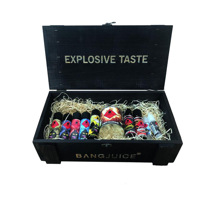 BangJuice® Limited Edition Loot Box XL - Black