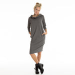 BARBARA dress in grey