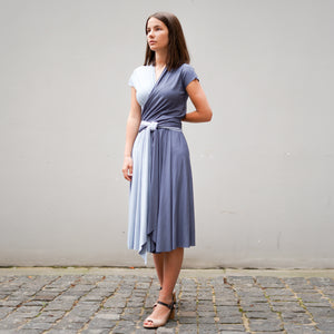 DIANA dress in light blue