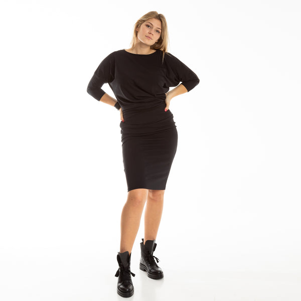 EVIJA dress in black