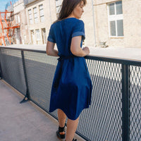 Cotton Denim Dress NELLIJA