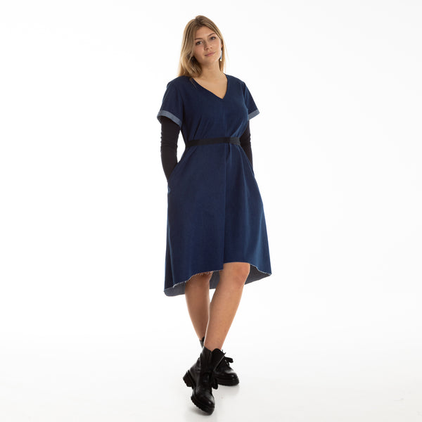 NELLIJA dress with long sleeves