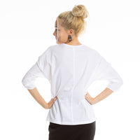 BILLE blouse in white