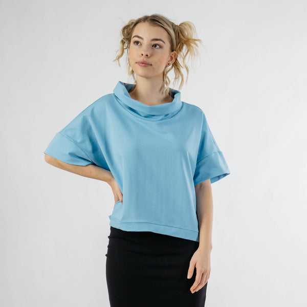 ILZE comfortable oversize cut top