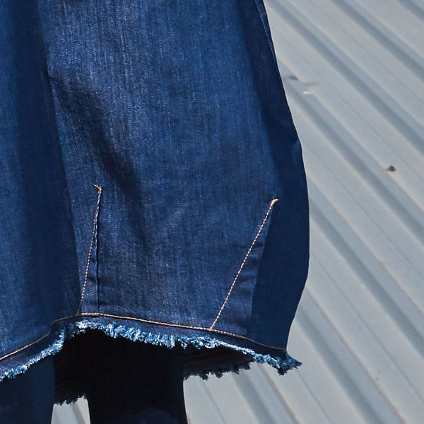 Denim Baloon Skirt NIKITA