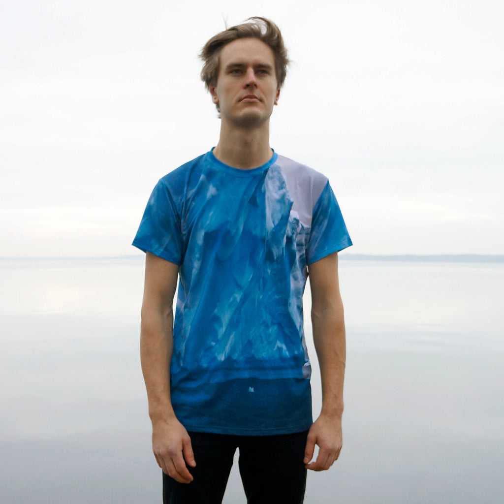 ICEBERG All-Over Print Men's T-Shirt