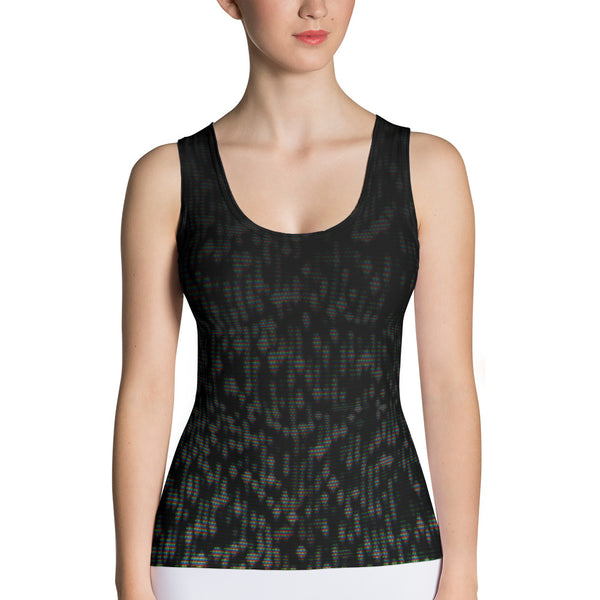 TV NOISE Sublimation Cut & Sew Tank Top