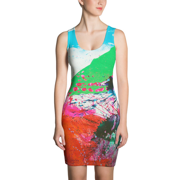 COLORSPLASH Cut & Sew Dress