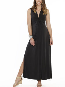 Irene Maxi Knot Front Dress