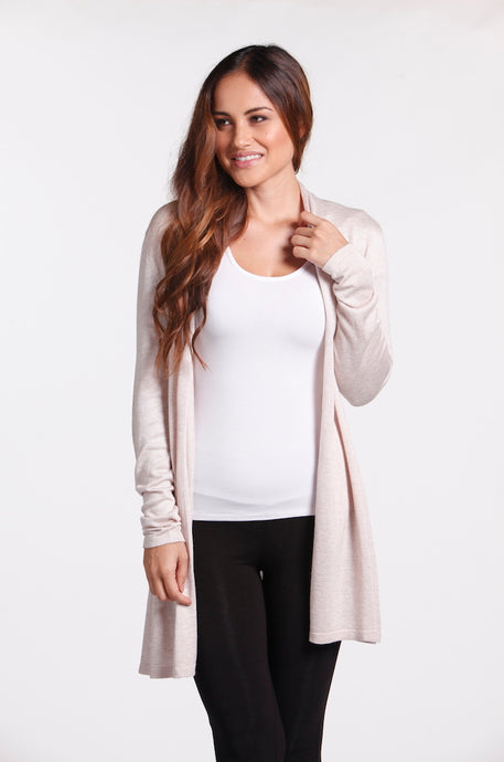 Bamboo Cashmere Duster Jacket