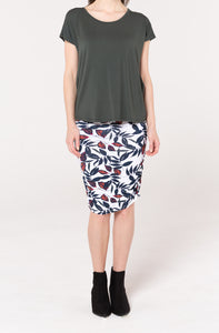 Ruched Skirt - Softline