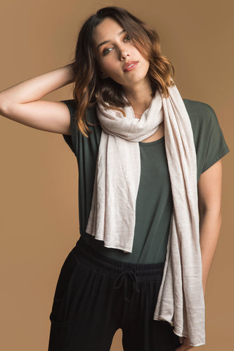 Bamboo Cashmere Wool Wrap