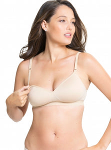 Buddy Seamless Wireless Moulded T-Shirt Nursing Bra