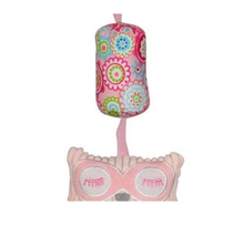 Hanging Owl Chime Toy - Grey only