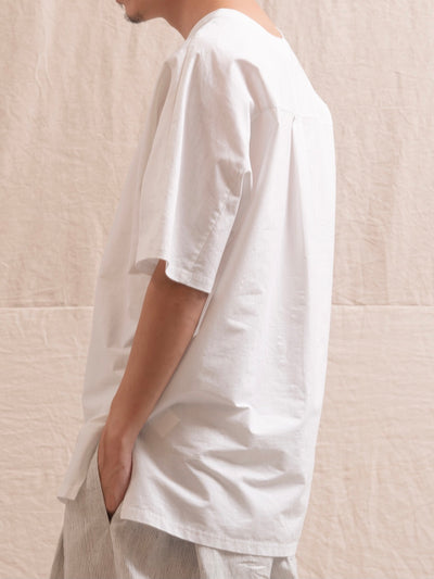 The Loose Fit Top - White