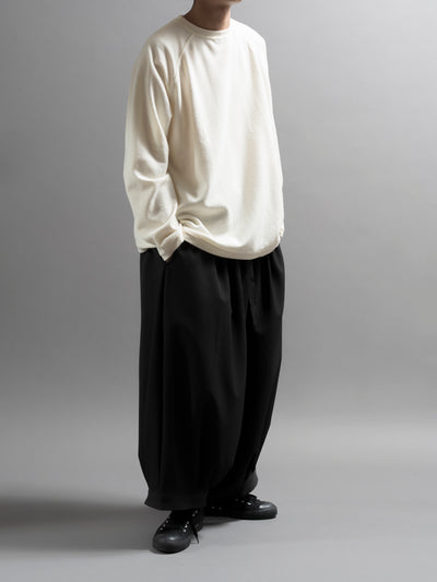Drawstring Ballon Woven Cropped Pants