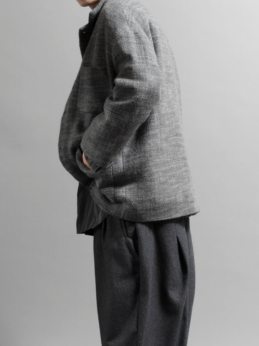 Wool Hunting Blazer - Grey