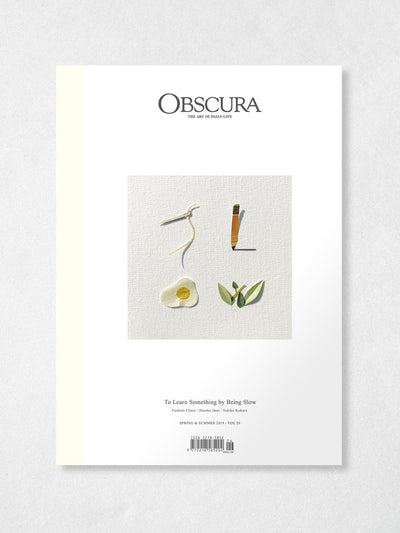Obscura Magazine Vol 26: Spring & Summer 2019