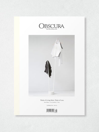 Obscura Magazine Vol 16 : Summer 2014