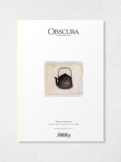 Obscura Magazine Vol 23: Autumn & Winter 2017