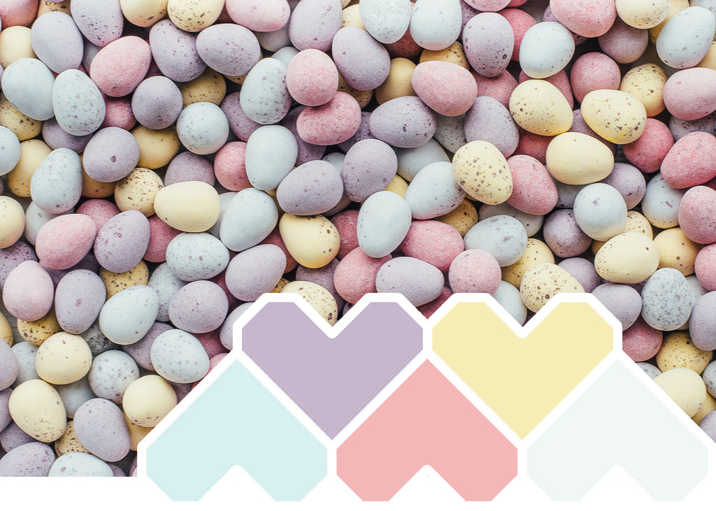 Colour Inspiration ~ October 'Spring Pastels'