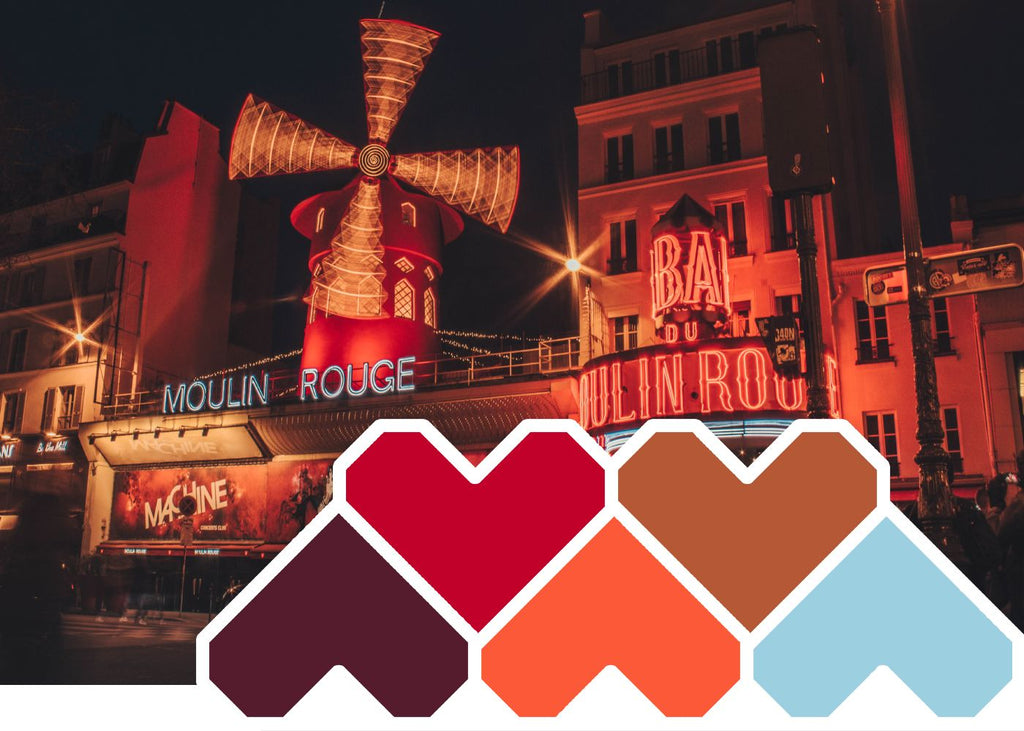 Colour Inspiration October ~ 'Moulin Rouge'