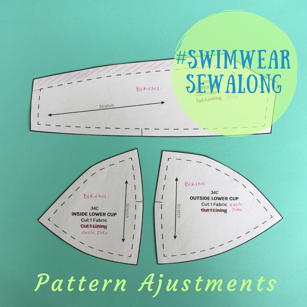 Swimwear Sewalong ~ Pattern Adjustments