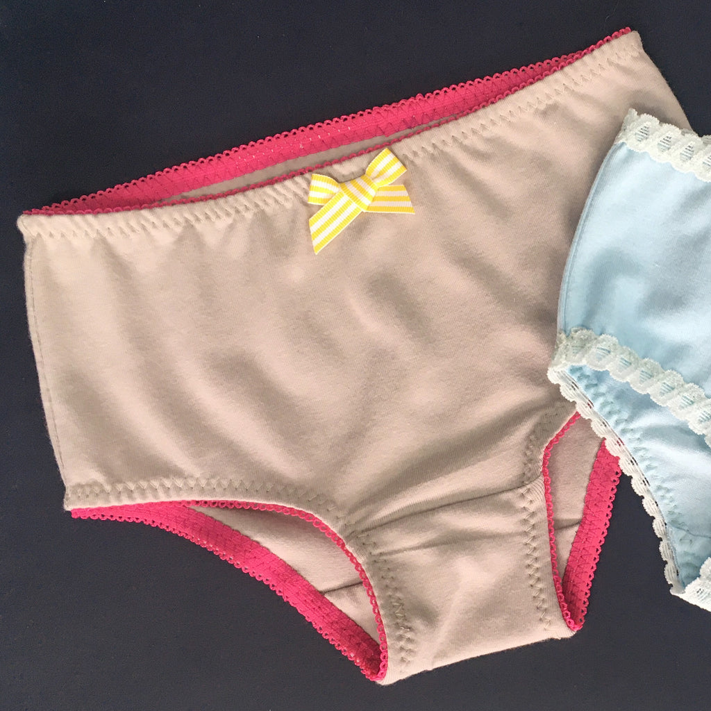 Alternative Elastic Finishes for the Children's Knickers Pattern #NJ201