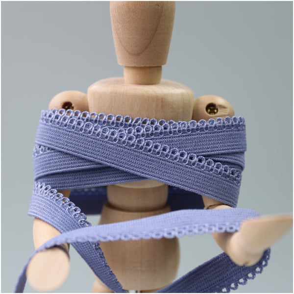 showing close up of picot elastic