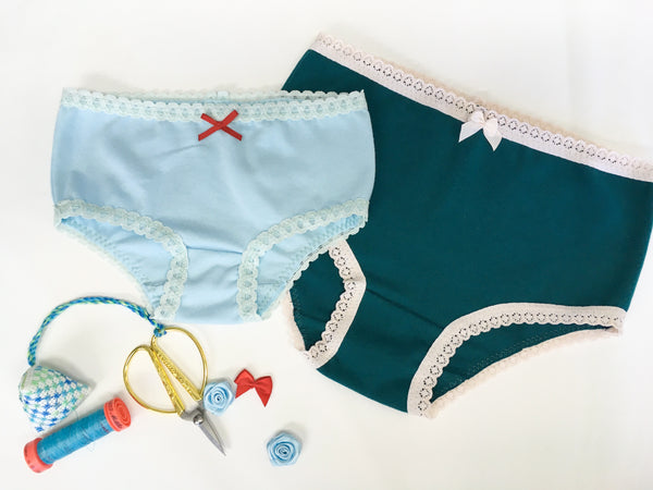 Knickers in smallest and largest sizes