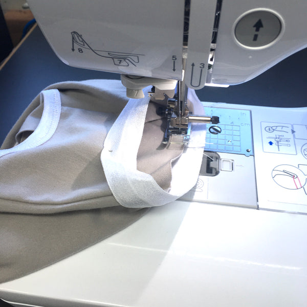 Stitching position of knickers