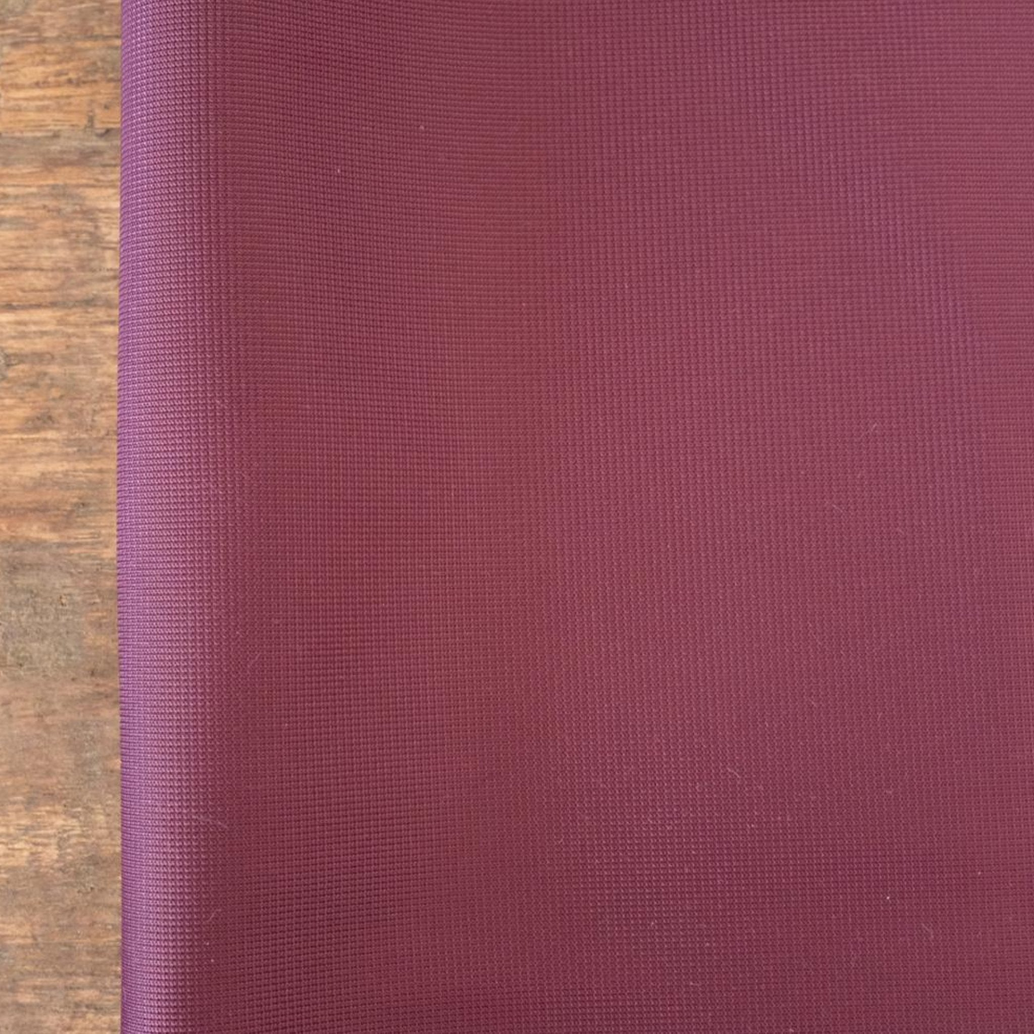 Duoplex non stretch fabric burgundy