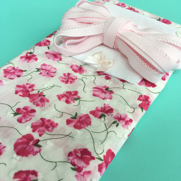 Briefs Kit ~ Woven Floral