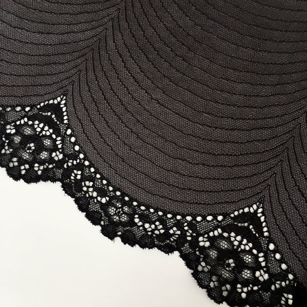 Stretch Lace ~ Midnight
