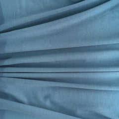 Cotton lycra ~ Steel blue