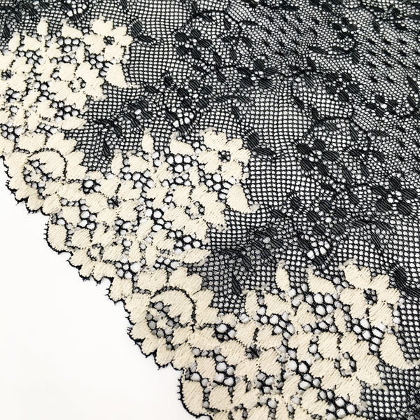 Stretch Lace ~ Moonlit Fields