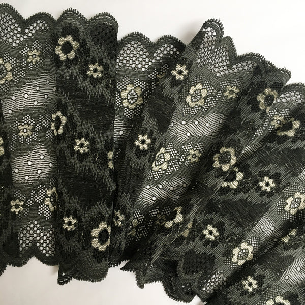 Stretch Lace ~ Olive Garden