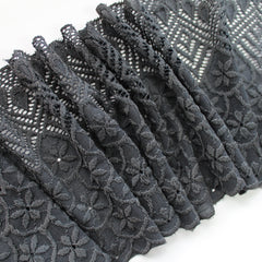 Stretch lace ~ Pewter