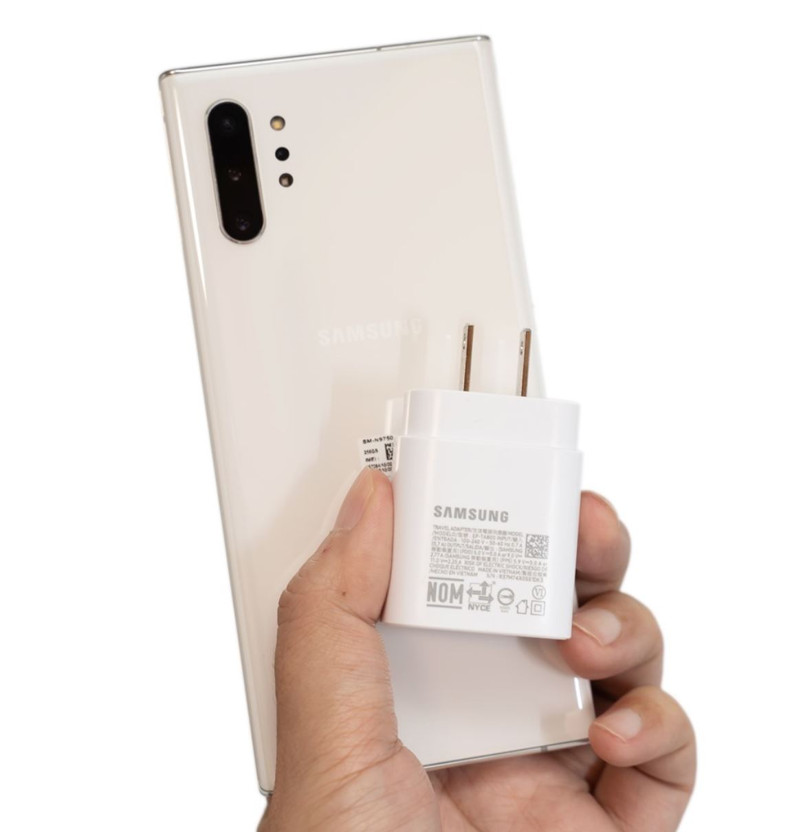 Inviolabs Samsung Galaxy Note 10+ 25W charger