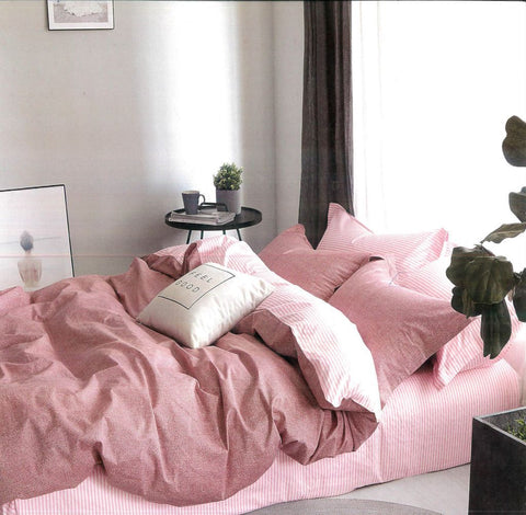 Malako Adore 100% Cotton Rose Abstract Bedding Set