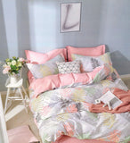 Petal Soft Comfort XL 100% Cotton Peach  Leaves Bedding Set