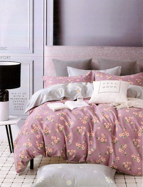 Petal Soft Comfort XL 100% Cotton Rose Botanic Bedding Set