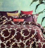 Petal Soft Galaxie Fine Cotton Golden Brown Ethnic Bedding Set